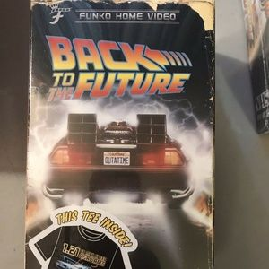 Funko Back To The Future T-Shirt SMALL LE VHS Box